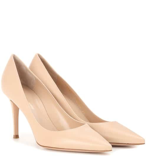Gianvito Rossi Pumps Gianvito 85 aus Leder