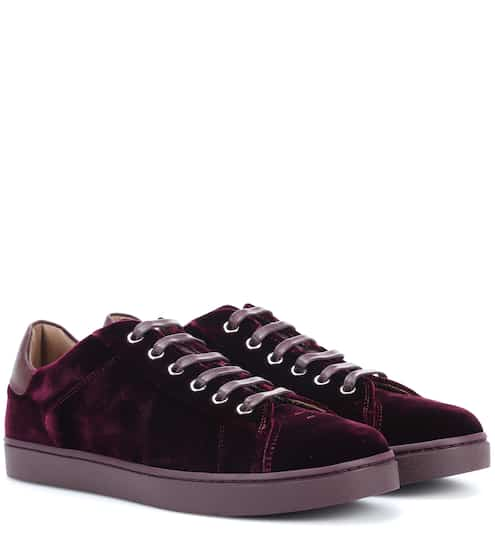 Gianvito Rossi Sneakers aus Samt