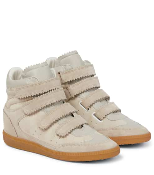 48c22574a14 Bilsy suede high-top sneakers | Isabel Marant