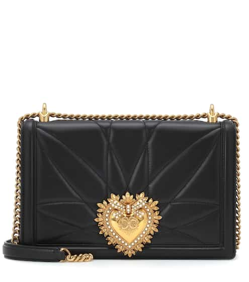 470caedea7c9e Large Devotion leather shoulder bag