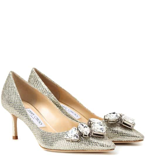 Jimmy Choo Pumps Marvel 60 mit Glitter