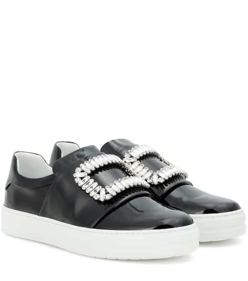 Roger Vivier Verzierte Sneakers Sneaky Viv' aus Lackleder