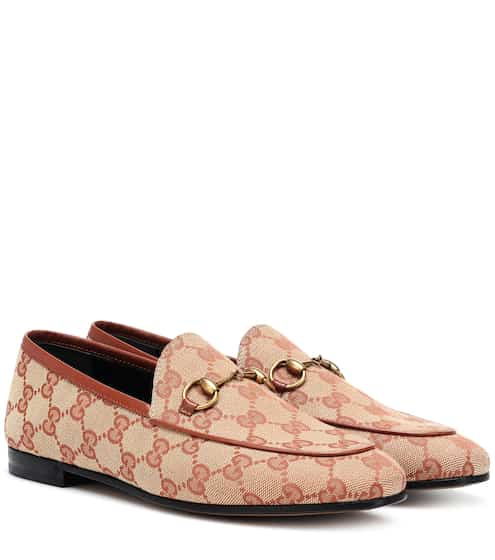 381b1be4a4c Jordaan GG canvas loafers. € 545. available sizes. EU 35