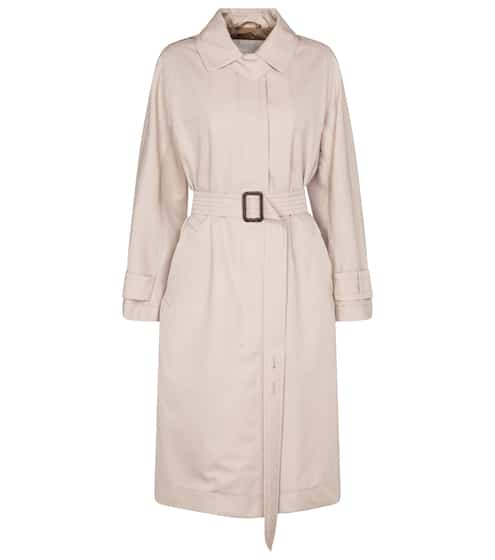 막스마라 트렌치 코트 Max Mara Aimper cotton gabardine trench coat