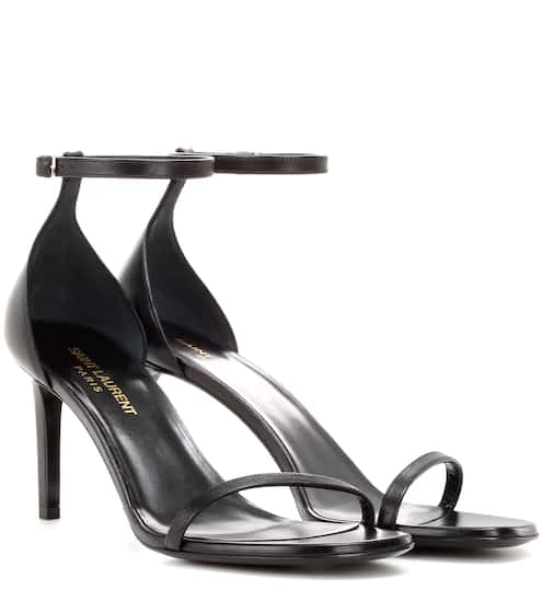 Saint Laurent Sandalen Jane 80 aus Leder