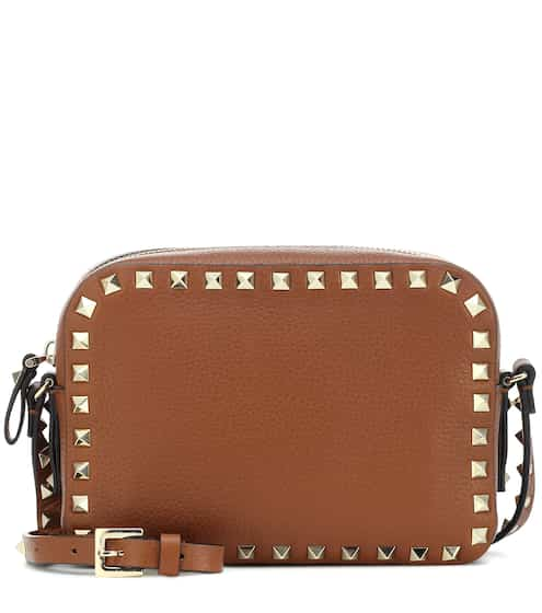 b8701f0703a Valentino Garavani Rockstud leather crossbody bag | Valentino