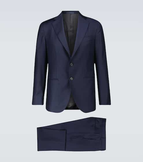 CARUSO Aida wool suit