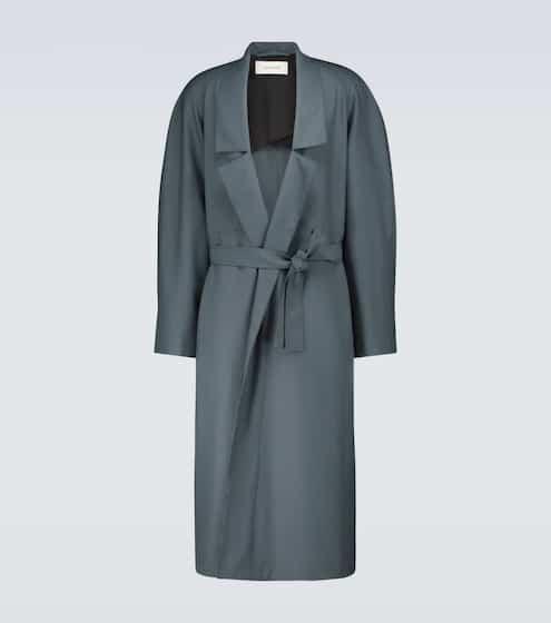 21SS 르메르 옴므 울 혼방 로브 코트 Lemaire Wool-blend robe coat