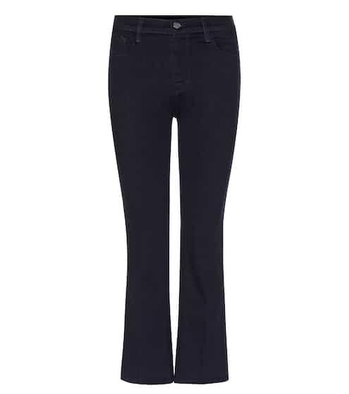 J Brand Flared Jeans Helena aus Stretchdenim
