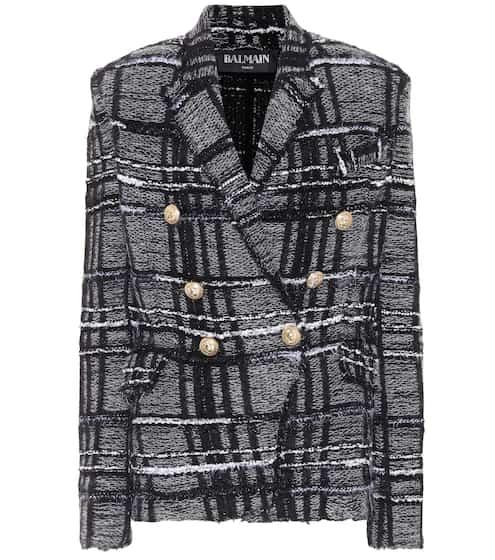 Balmain Blazer aus Tweed