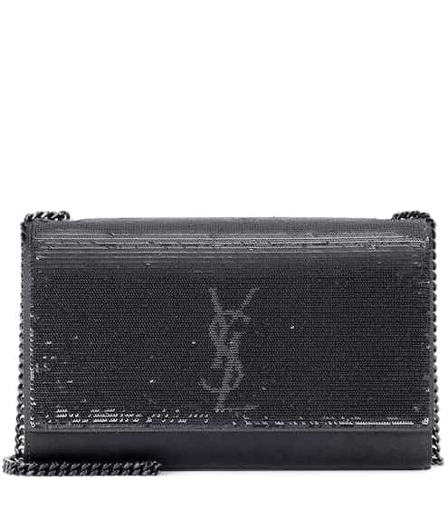 Saint Laurent Schultertasche Kate Medium mit Pailletten