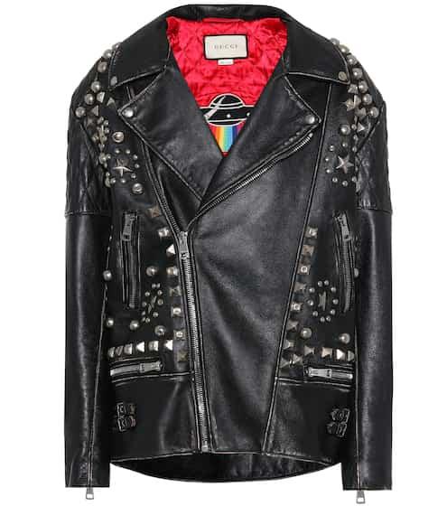 Gucci Bikerjacke aus Leder