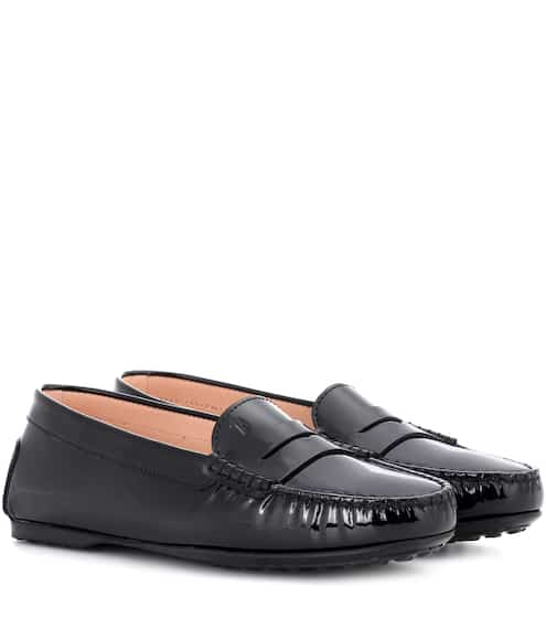 Tod's Loafers City Gommino aus Lackleder