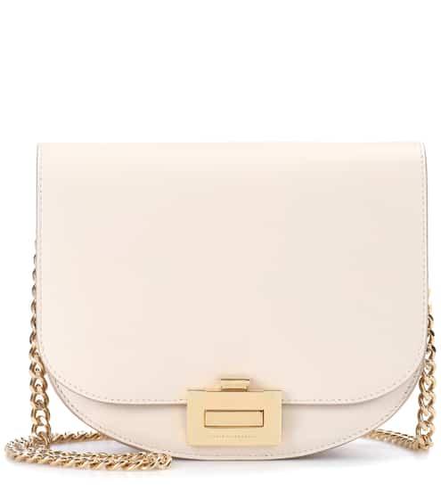 Victoria Beckham Schultertasche Box With Chain aus Leder