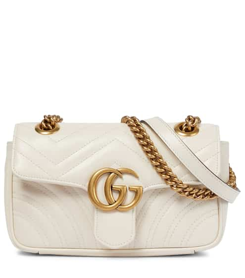 c73db2f36fdc52 Gucci Gg Marmont Mini Leather Crossbody Bag from mytheresa - Styhunt