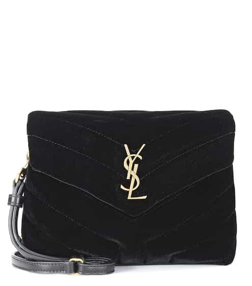 Toy Loulou Velvet Shoulder Bag Au 1 560