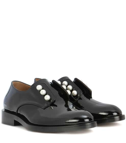 designer for givenchy 5rv7  Masculine Pearls patent leather derby shoes  Givenchy