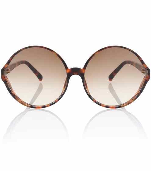 Linda Farrow Sonnenbrille mit rundem Rahmen