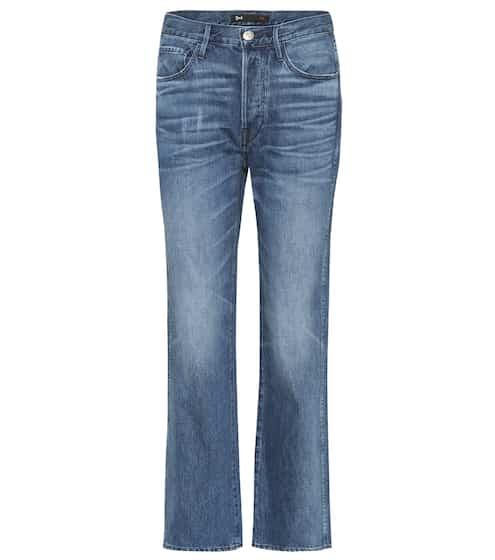 3x1 Jeans mit geradem Bein