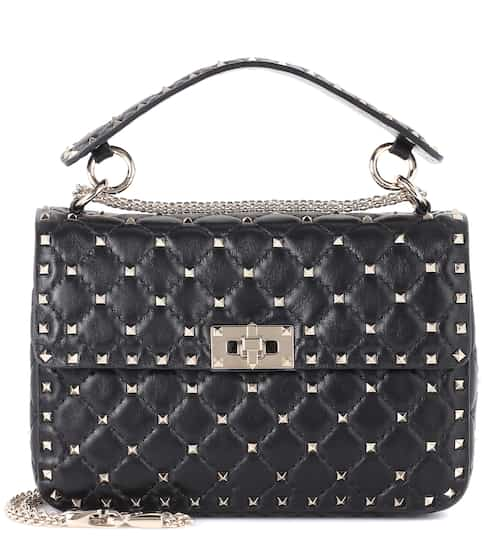 fc7bd60e1c4 Valentino Garavani Rockstud Spike Medium leather shoulder bag | Valentino