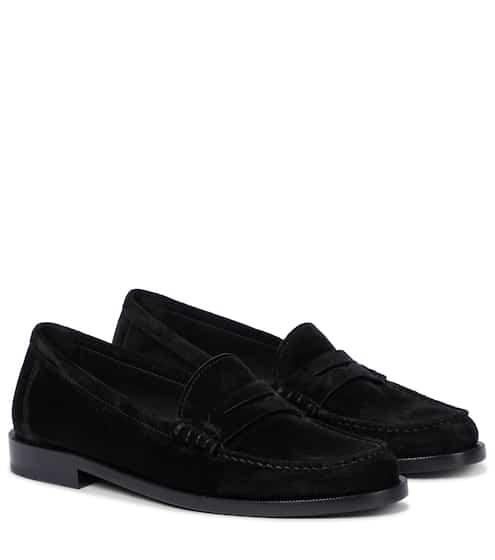 생 로랑 Saint Laurent Le Loafer suede loafers