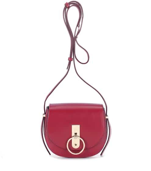 Nina Ricci Schultertasche Compas Mini aus Leder