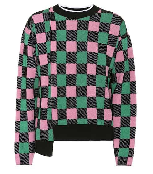 Marni Karierter Pullover mit Baumwolle