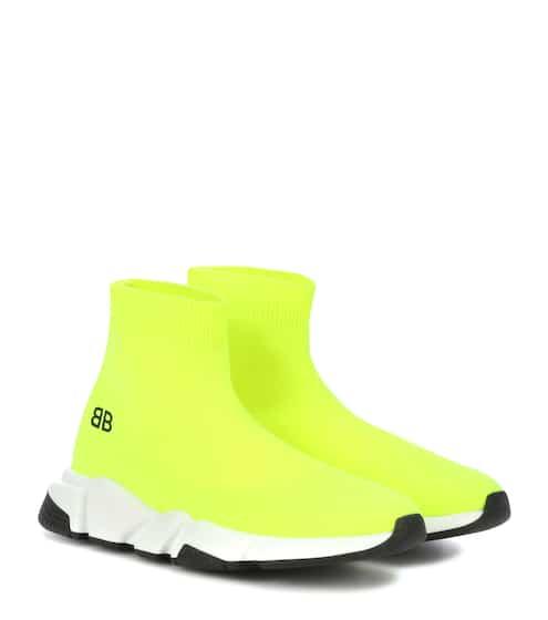 발렌시아가 키즈 스피드러너 - 옐로우 Balenciaga Speed sneakers