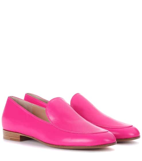 539bddf3fa7 Gianvito Rossi Exclusive To Mytheresa.Com Leather Loafers