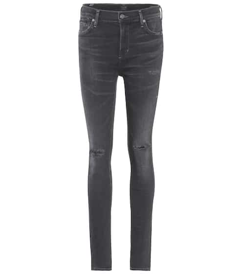 Citizens of Humanity High-Rise Skinny Jeans Rocket