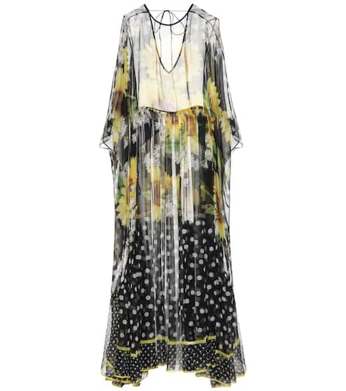 Dolce & Gabbana Silk kaftan dress