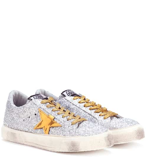 Golden Goose Deluxe Brand Sneakers May mit Pailletten
