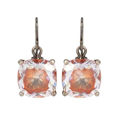 77efb006d Sterling silver earrings with cubic zirconia | Bottega Veneta