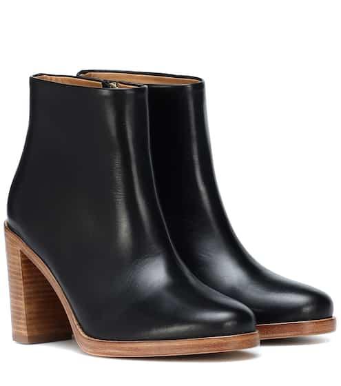 아페쎄 시크 가죽 앵클부츠 A.P.C. Chic leather ankle boots
