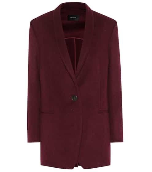 이자벨 마랑 Isabel Marant Felicie wool and cashmere jacket