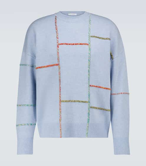 JW앤더슨 JW Anderson Wool and cashmere darning sweater