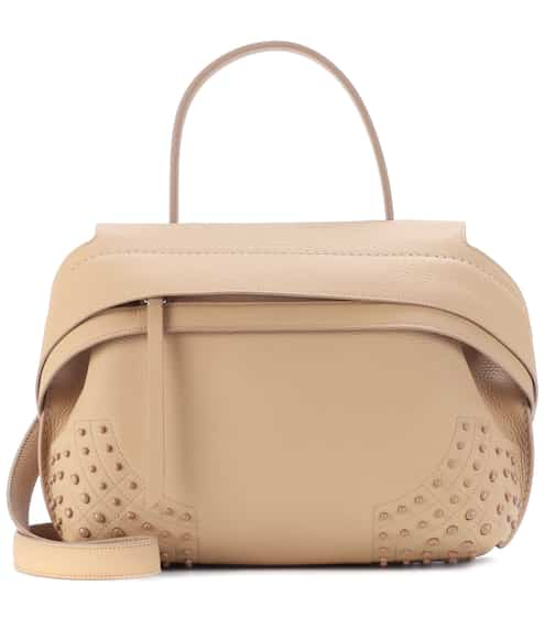 Sac cross-body en cuir Wave Mini V3iPqB
