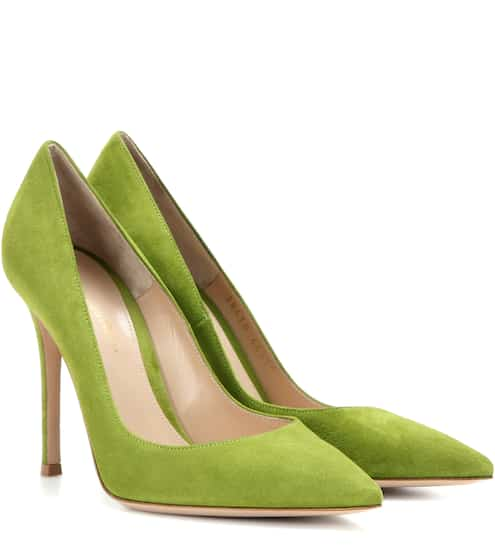 Gianvito Rossi Pumps Gianvito 105 aus Veloursleder