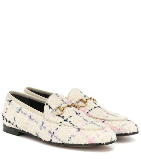 83f63377e98 Jordaan checked tweed loafers