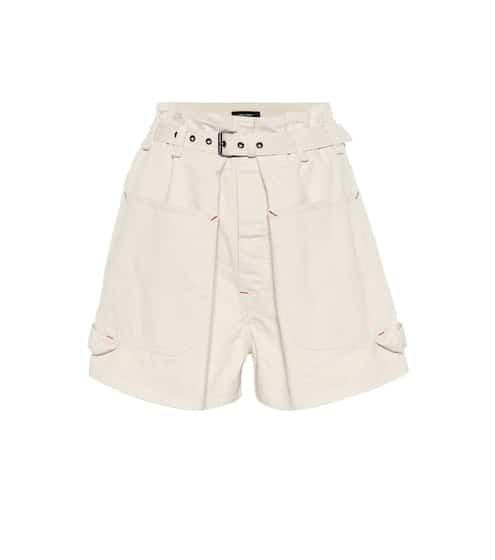 이자벨 마랑 Isabel Marant Ike high-rise denim shorts