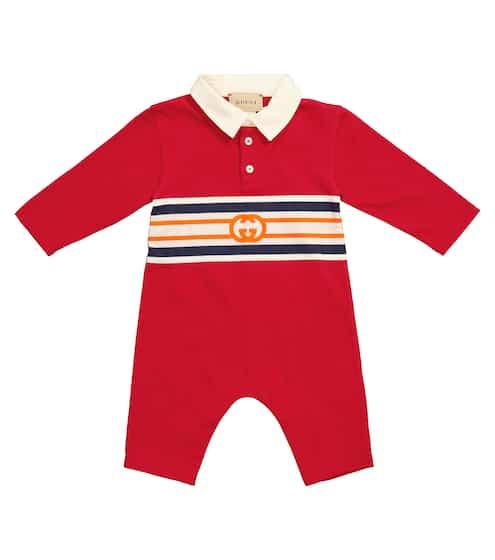 구찌 베이비 아기옷 우주복 Gucci Kids Baby GG cotton onesie