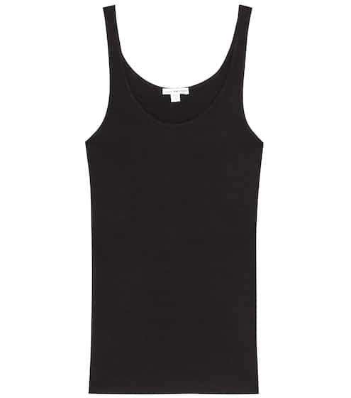 James Perse Geripptes Tanktop The Daily