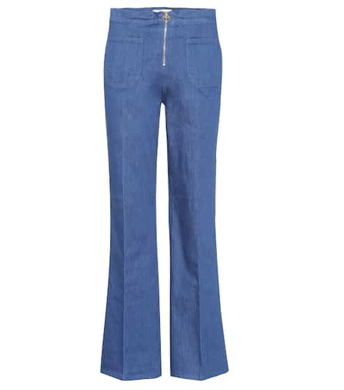 Tory Burch Flared Jeans Luisa