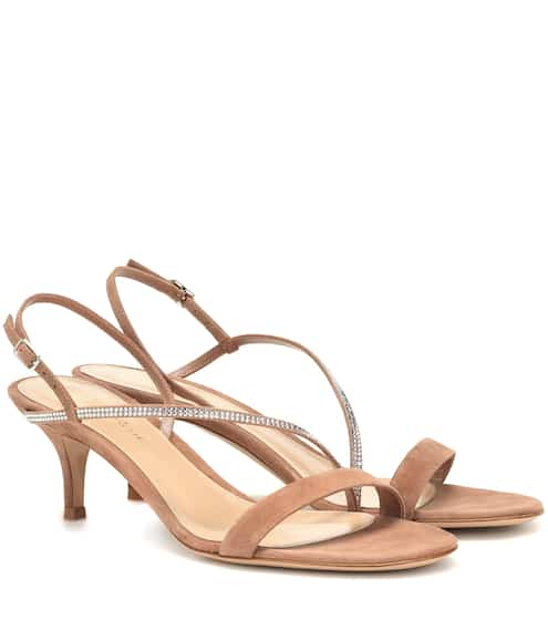 826e8db9ef2dc Exclusive to Mytheresa – Manhattan 55 suede sandals | Gianvito Rossi