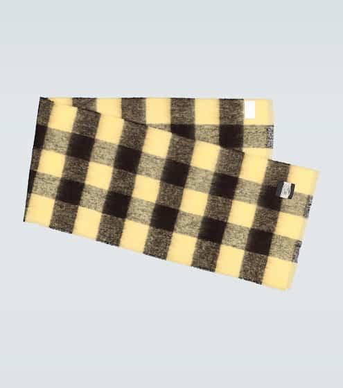 아워 레거시 체크 블랭킷 머플러 Our Legacy Checked blanket scarf