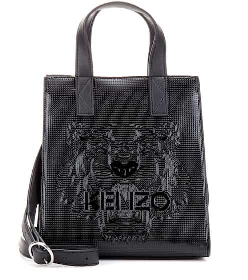 Kenzo Tasche Mini Tiger mit Logoprägung