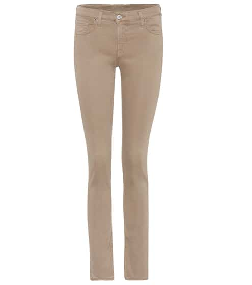 7 For All Mankind Skinny Jeans Pyper aus Stretchdenim