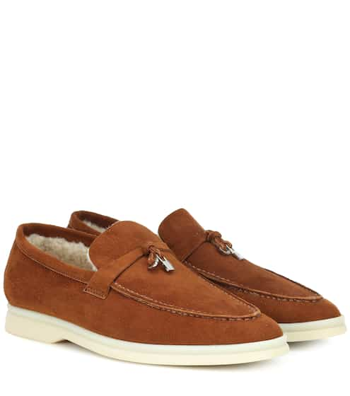 c724d137cba Summer Charms Walk suede loafers