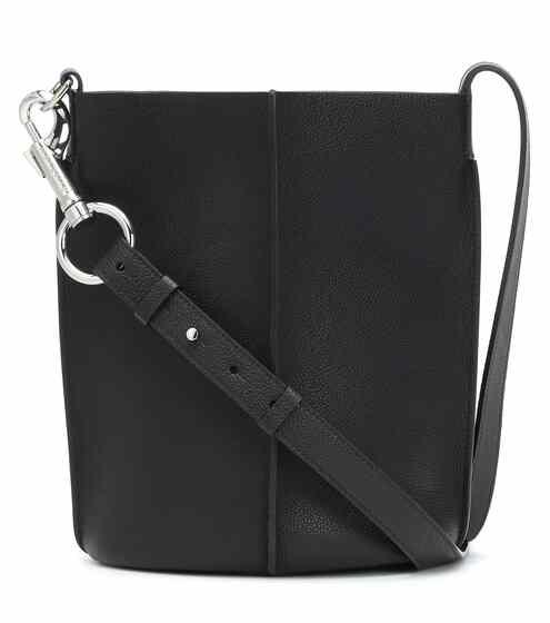 아크네 스튜디오 Acne Studios Leather bucket bag