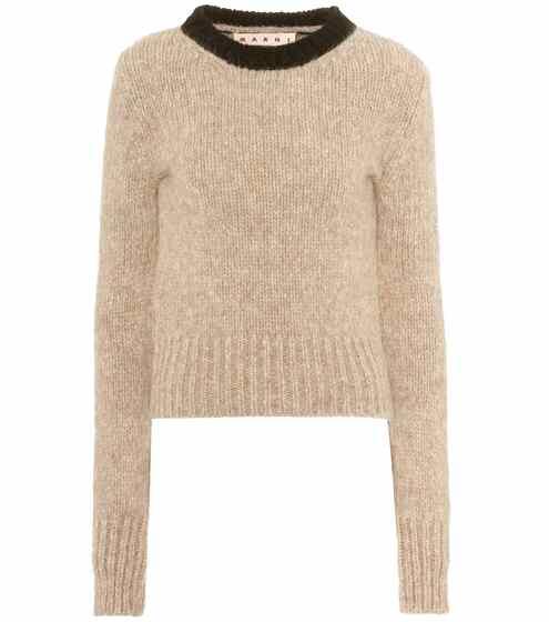 Marni Pullover mit Alpaka und Wolle